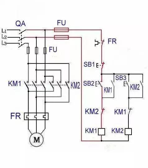 控制接线图,电子元件工作原理图,还有可控硅整流电路及负反馈调速装置