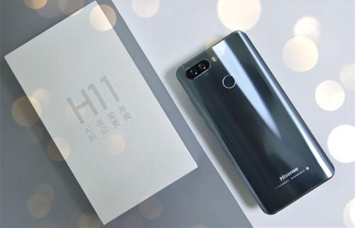 海信手机h11轻体验:不凡双摄,还能畅快刷脸