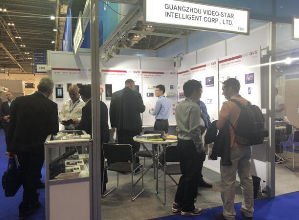 IFSEC英国展:视声发布全新智能控制解决方案和产品