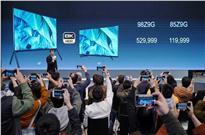 王思聪的土豪电视来新款了,索尼发布98寸8K电视,售价53万